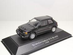 SAPI MODELS MAZDA FAMILIA GT-R 1992 BLACK E-BG8Z 323 1/43 #SAPIMODELS #Mazda