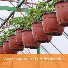 Sono davvero tanti i settori presenti: vasi ed altri contenitori per piante e fiori