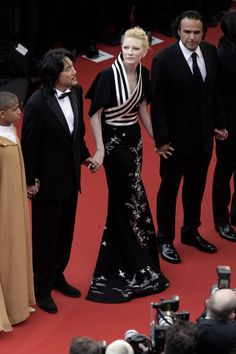 Cate Blanchett at the Cannes Film Festival premiere of Babel, May 23, 2007