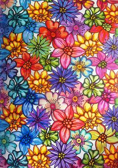 Arte-Terapia Jardins page 68, art-therapy, colouring book, coloriage