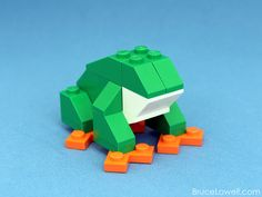 LEGO Tree Frog Kit (by bruceywan)