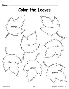 Free Printable Fall Coloring Pages For Kindergarten - Coloring Page Homeschool Worksheets, Worksheets For Kids, Kindergarten Worksheets, Printable Worksheets, In Kindergarten, Free Printable, Alphabet Worksheets, Homeschooling, Infant Activities