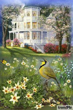 Listen!+Little+bird+is+singing... od Mirna M - trendme.net