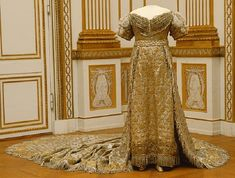 Coronation gown of Desideria of Sweden and Norway, 1829