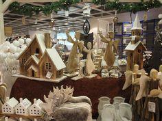 Dekoartikel für Weihnachten aus Holz