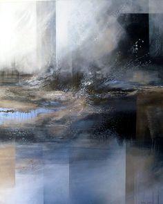 IRINA LAUBE Landscape Abstract | Landschaft Malerei