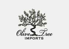 Olive Tree Imports logo design