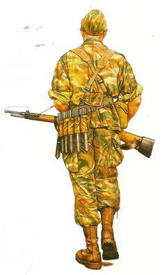 Corporal French Colonial Parachute Regt, Suez 1956