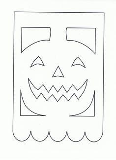 Menta Más Chocolate - RECURSOS y ACTIVIDADES PARA EDUCACIÓN INFANTIL: Banderines de Halloween