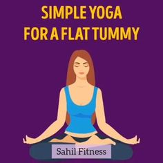Beginner Yoga Workout, Gym Workout Videos, Workout For Beginners, Easy Workouts, Yoga For Flat Tummy, Flat Tummy Workout, Workout Bauch, Health And Fitness Articles, Fitness Workout For Women
