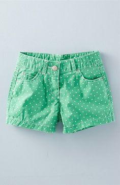 Mini Boden Heart Pocket Shorts (Toddler Girls, Little Girls & Big Girls) available at #Nordstrom