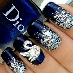 Christian Dior Fashionable Nail Art
