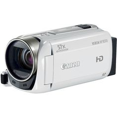 Canon VIXIA HF R500 Flash Memory Digital Camcorder with HD-1080p - White  http://pointshoot-cameras.com EZ