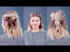 Wedding Hairstyles Half Up Half Down Hairstyle Of The Day: Half Up Half Down French Twist Fast Hairstyles, Easy Hairstyles For Long Hair, Long Wavy Hair, Long Hair Cuts, Popular Hairstyles, Prom Hairstyles, Evening Hairstyles, Hairstyles Pictures, Hairdos
