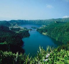 Lagoa das Sete Cidades, one of the most beautiful and magnificent lagoons of the island of São Miguel, Azores