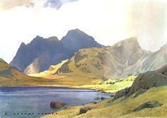 Blea Tarn, Langdale- William Heaton Cooper