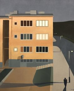 """thunderstruck9: """"Torsten Jovinge (Swedish, 1898-1936), From Eriksdal. Oil on canvas, 61.5 x 50.5 cm. """""""