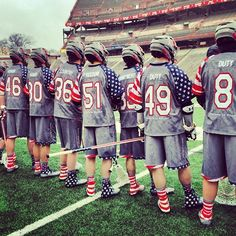 Maryland lacrosse's wounded warrior project uniforms. TFM.