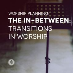 As a worship leader, leading within a song is a given… But what about the in-between? Transitions are a great way to help create a seamless time of worship and reduce potential awkwardness between ...