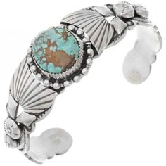 Navajo Old Pawn Style Sterling Silver No 8 Turquoise Bracelet Native USA Navajo Jewelry, Southwest Jewelry, Indian Jewelry, Bracelet Size Chart, Bracelet Sizes, Turquoise Jewelry, Turquoise Bracelet, Silver Jewelry, Native American Art