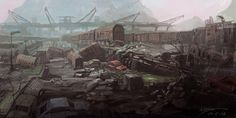 City of dust by zhangc