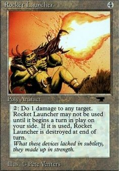 Antiquities: Rocket Launcher