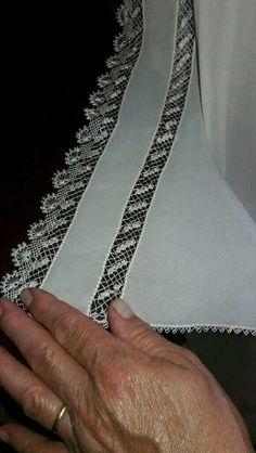iğne oyası Turkish needle lace |