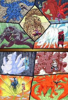 Naruto- Bijus y jinchurikis