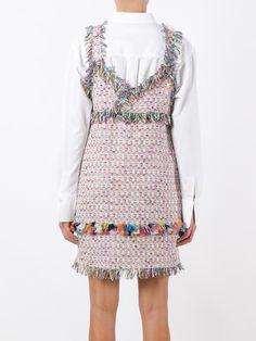 MSGM tweed short dress