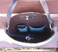"""Купить Сумка """"Заклинатели змей"""" - орнамент, сумка войлочная, сумка валяная, сумка с орнаментом"""