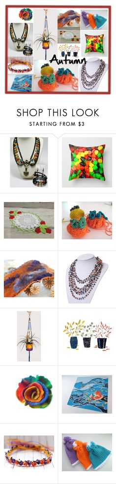 """""""Autumn"""" by oxysfinecrafts ❤ liked on Polyvore featuring bori"""