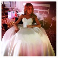 Bon dieu wedding dress