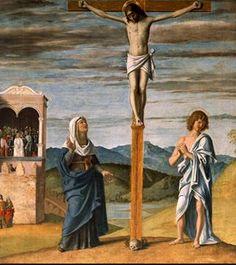 Cima da Conegliano, Crucifixion, c. 1488-93, Birmingham, Barber Art Collection (detail)