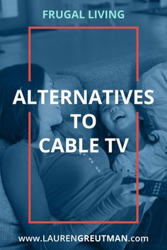 Are you sick of paying so much for your cable bill? Here are 10 amazing alternatives to cable that can help you reduce your bills by thousands per year! Best Money Saving Tips, Ways To Save Money, Saving Money, Money Tips, Cable Tv Alternatives, Debt Relief Companies, Cut Cable, Get Out Of Debt, Frugal Living Tips