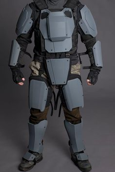 Apex Mk4 BLANK PLATES SET Sci-fi Armor