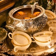 Charles Dickens Christmas   Christmas Wassail   Punch! Cooking Channel