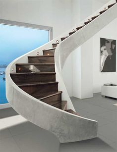 Decorative Staircases - classic contemporary staircase designs, ideas, pictures from Edilco