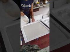 Técnicas em gesso 3d ( como armazenar minhas placas 3d ) - YouTube