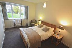 The double bedroom at Stalker's Cottage on the Glencarron Estate near Inverness. http://www.glencarronestate.co.uk