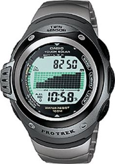 e5539dab38 Casio Protrek Twin Sensor Titanium Digital Unisex Watch PRG100T7V   Details  can be found by clicking on the image.Note It is affiliate link to Amazon.