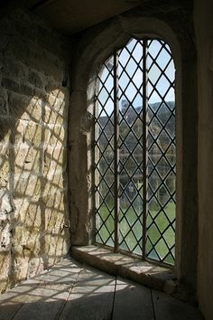 The view from the window | Stokesay Castle