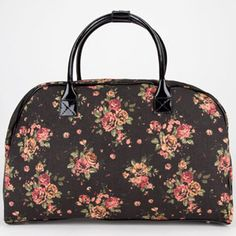 944b64d5df16 Floral prints and leopard are my favorite!! Cute Luggage