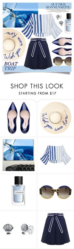 """I Miss The Sea"" by jaudrey ❤ liked on Polyvore featuring Eugenia Kim, Design Art, Mara Hoffman, Yves Saint Laurent, Gucci, Disney, Zimmermann and bringbacksummer"