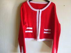 giacca donna modello chanel di maglieriamagica su Etsy, €63.00