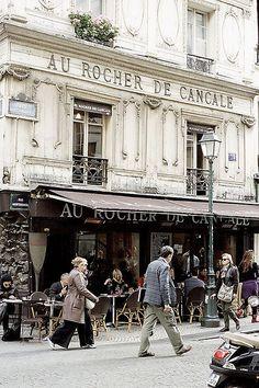 Au Rocher de Cancale, Paris
