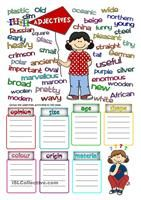 Some people are waiting for the bus and the bus is late: read the descriptions and match them to the people. Then, they answer some questions and describe some people (page 2) - ESL worksheets