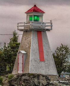 South Baymouth Lighthouse by David Whiteford, via 500px. South Baymouth, Ontario, Canada. Manitoulin Island, entrance to Georgian Bay, Lake Huron