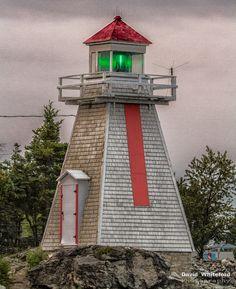 South Baymouth Lighthouse by David Whiteford, via 500px.  South Baymouth, Ontario, Canada.  Manitoulin Island, entrance to Georgian Bay, Lake Huron