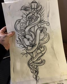 Can't wait tomorrow !! #tattoo #snakes #snakeanddagger #dagger #daggertattoo #dague #tattoo #ink #flashworkers #toptattooflash #blackflashwork #blackworkers #blacktattooing #btattooing #blackworkerssubmission #inkstinctsubmission #onlythedarkest #onlyblackart #silverbackink #occultarcana #blackworkershero #iblackwork