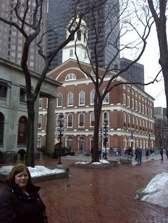 Quincy Market and Fanuel Hall  Boston